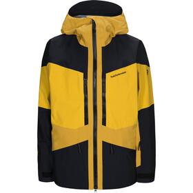 Peak Performance Gravity Jacket Herre Yellow Flow
